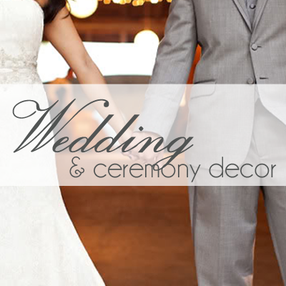 Wedding Decor Rentals in Tulsa OK, Oklahoma City, Joplin MO, Fort Smith AR