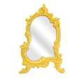 Rental store for Frestina Vanity Tablestand Mirror, Yello in Tulsa OK