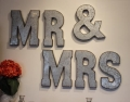 Rental store for Oversized Galvanized  MR  MRS  Letters in Tulsa OK