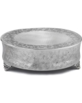Rental store for 18 rd Silver Cake Stand in Tulsa OK