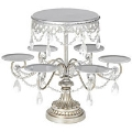 Rental store for Vintage Silver Cupcake Cake Stand with h in Tulsa OK