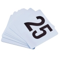 Rental store for Plastic Table Numbers Set  1thru 50 avai in Tulsa OK