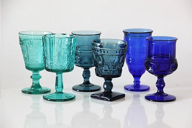 Where to find Vintage Glassware - Ocean Collection in Tulsa