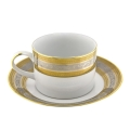 Rental store for Elegance Coffee Cup  Platinum Silver Ban in Tulsa OK