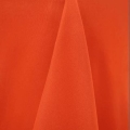 Rental store for 60x120 Orange Classic Poly Linen  v in Tulsa OK