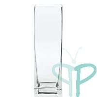 Where to find 3x9 Clear Square Vase in Tulsa