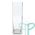 Rental store for 3x9 Clear Square Vase in Tulsa OK