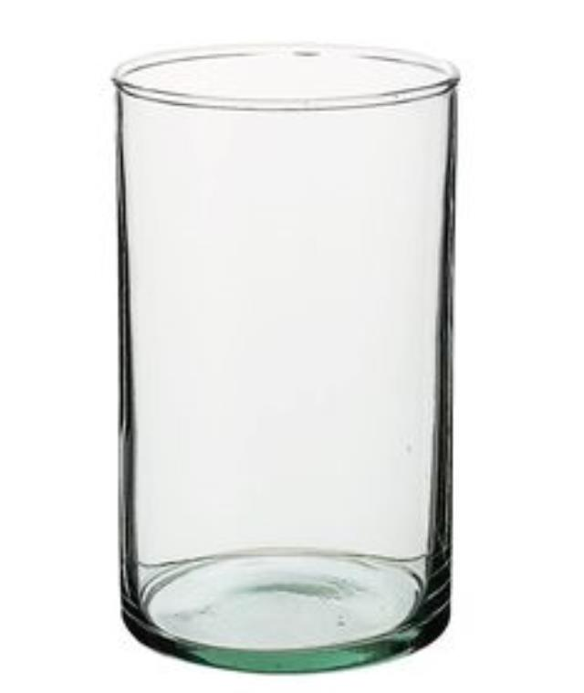 Where to find 3.25 w x 9.75  tall clear glass vase in Tulsa