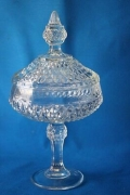 Rental store for Confections Crystal Cut Candy Dish with in Tulsa OK
