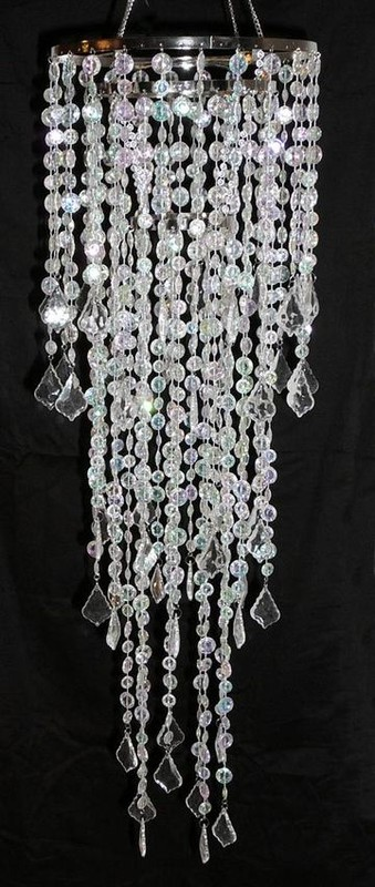 Where to find Diamond cut beaded chandelier in Tulsa