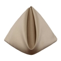 Rental store for Khaki Classic Dinner Napkins in Tulsa OK