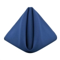 Rental store for Dark Blue Classic Poly Dinner Napkins in Tulsa OK