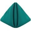 Rental store for Teal Classic Poly Dinner Napkins, 20x20 in Tulsa OK