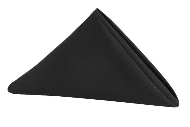 Where to find Black Classic Dinner Napkin in Tulsa