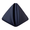 Rental store for Navy Matte Satin Dinner Napkins in Tulsa OK