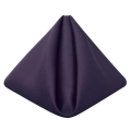Rental store for Eggplant Matte Satin Dinner Napkin in Tulsa OK