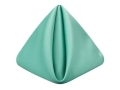 Rental store for Aqua Matte Satin Dinner Napkin in Tulsa OK
