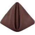 Rental store for Brown Cotton 20x20 Dinner Napkins in Tulsa OK