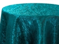 Rental store for Teal Iridescent Crush Napkins, 20x20 in Tulsa OK