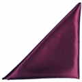 Rental store for Burgundy Satin Dinner Napkin in Tulsa OK