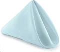 Rental store for Powder Blue Classic Poly Dinner Napkin in Tulsa OK