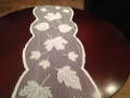 Rental store for Autumn Leaves Lace Runner, Ivory in Tulsa OK