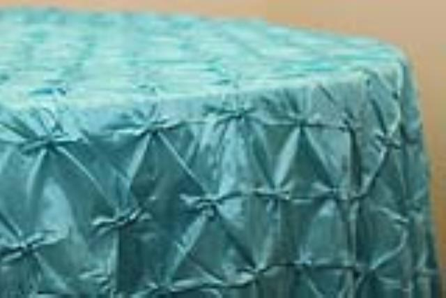 Where to find 120 rd  Turquoise Pinched Taffeta Linen in Tulsa