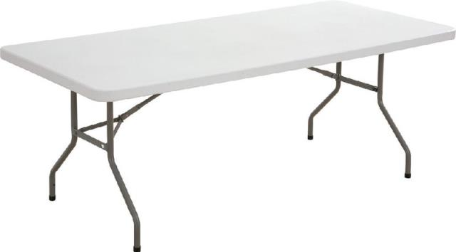 Where to find 6ft banquet table- plastic in Tulsa