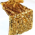 Rental store for Gold Hanging Sequin Runner  13 x108 in Tulsa OK