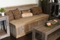 Rental store for Reclaimed Wood Sofa in Tulsa OK
