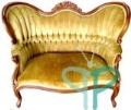 Rental store for Gold Rosewood Parlor Sofa in Tulsa OK