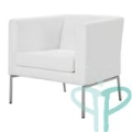 Rental store for Kipling White Fabric Chair in Tulsa OK