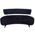 Rental store for Black Curved Sofa in Tulsa OK