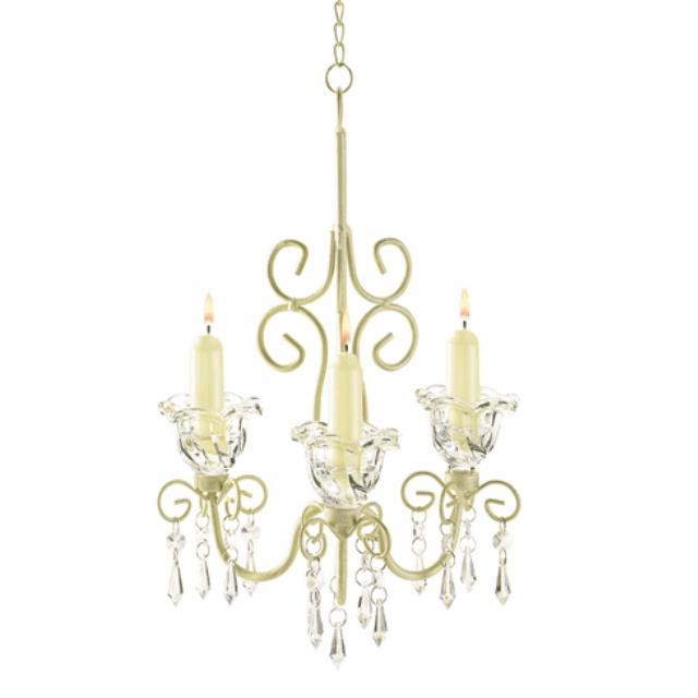 Where to find Shabby Chic Chandelier, 3 cups in Tulsa