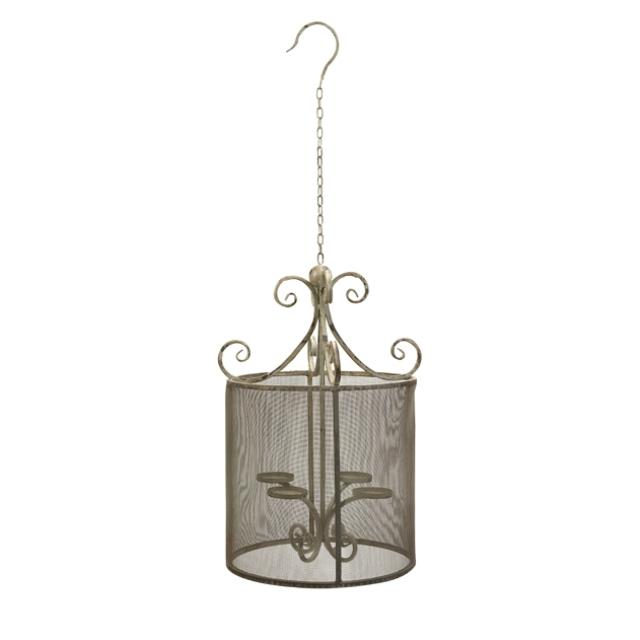 Where to find Vintage Screened Pendant Chandelier  hol in Tulsa