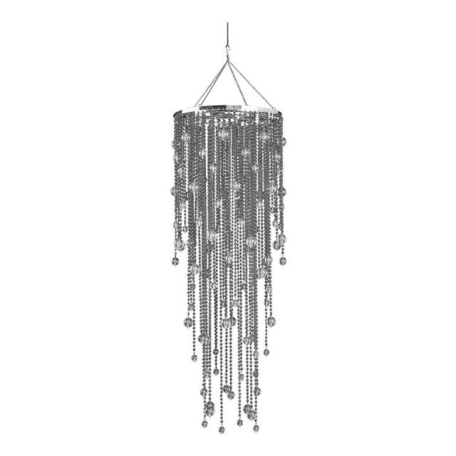 Where to find Steel Grey Acrylic Drop Chandelier, 38 in Tulsa