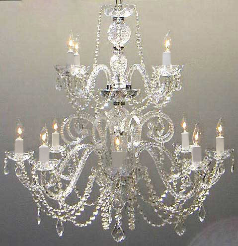 Where to find Venetian Crystal Chandelier, 2 Tier in Tulsa