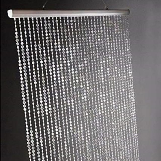 Where to find Crystal Irdescent Curtains, 14 ft tall in Tulsa