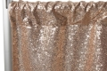 Rental store for Champagne Sequin Drape Backdrop Panel  1 in Tulsa OK
