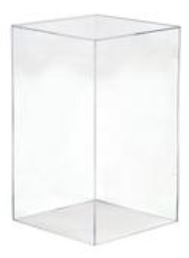 Where to find Acrylic Square Pedestal, 12 x12 x24 in Tulsa