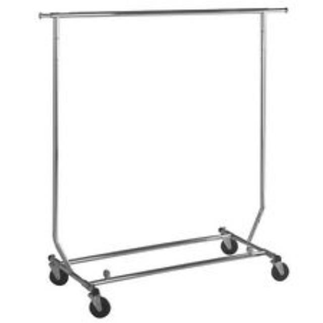 Where to find Rolling Coat Linen Rack in Tulsa