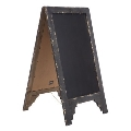 Rental store for Vintage Wood Chalkboard Sign  2 sided in Tulsa OK