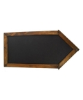 Rental store for Arrow Wood Chalkboard Sign in Tulsa OK