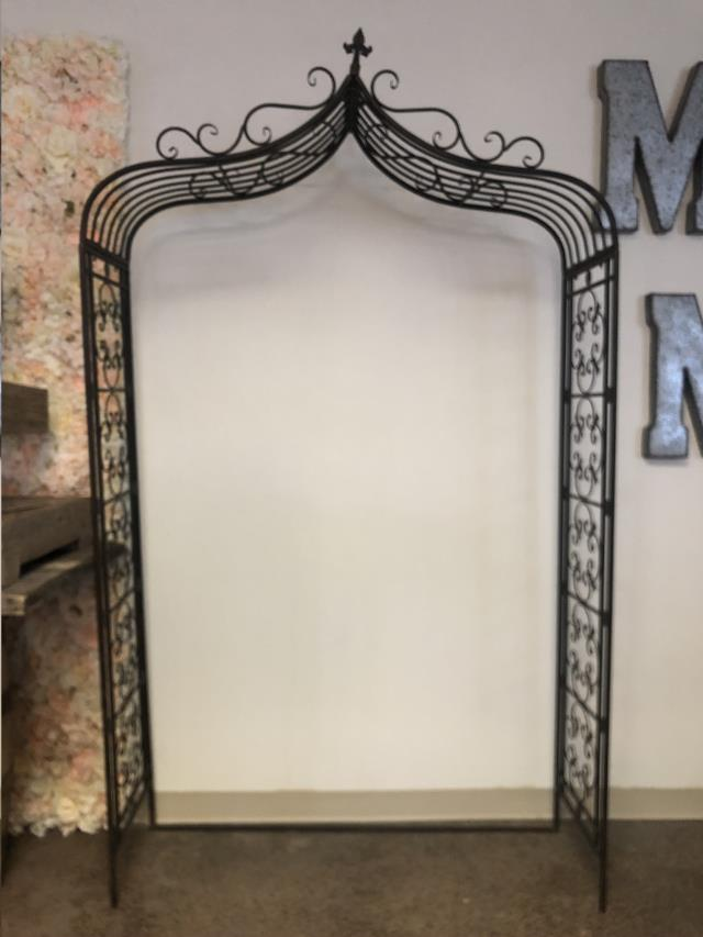 Where to find Wrought Iron Arch, 7ft  x 50 wide in Tulsa