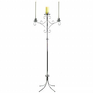 Where to find Silver Unity Candle Stand with pillar at in Tulsa