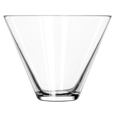 Where to find Stemless Martini Glass, 13.5 oz in Tulsa
