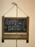 Rental store for Hanging Wood Chalkboard Sign in Tulsa OK