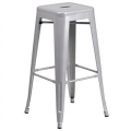 Rental store for Ezra Silver Bar Stool. 30 high in Tulsa OK