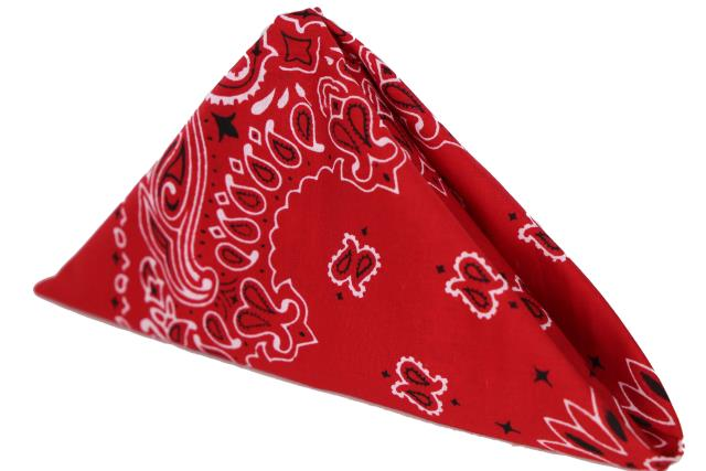 Where to find Red Bandana Napkins in Tulsa