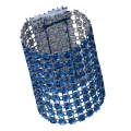 Rental store for Blue Rhinestone Napkin Ring in Tulsa OK